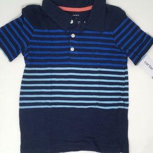 Carter's Boys' Short Sleeve Polo 3T
